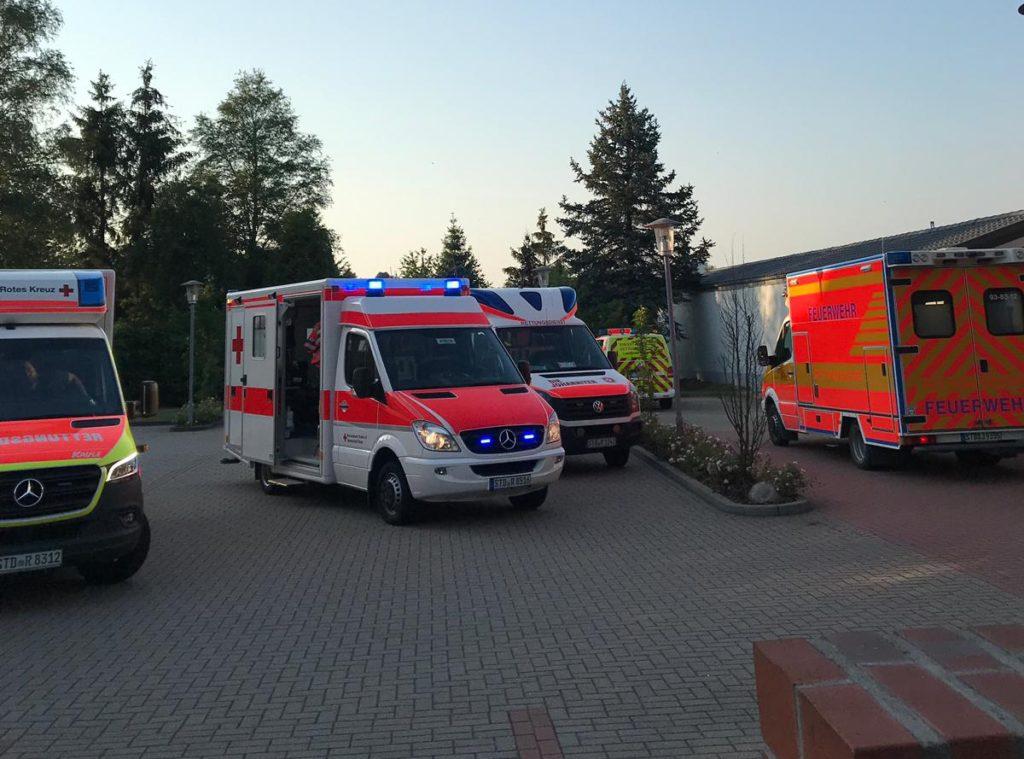 Helfer vor Ort: Absicherung der Einsatzkräfte an der Einsatzstelle