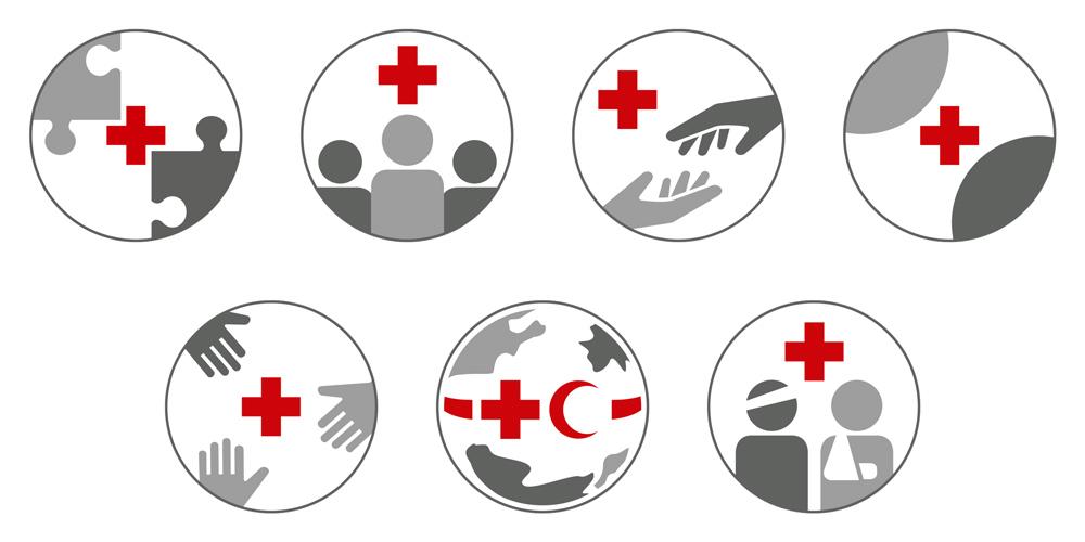 Selbstverständnis und Grundsätze des Roten Kreuzes