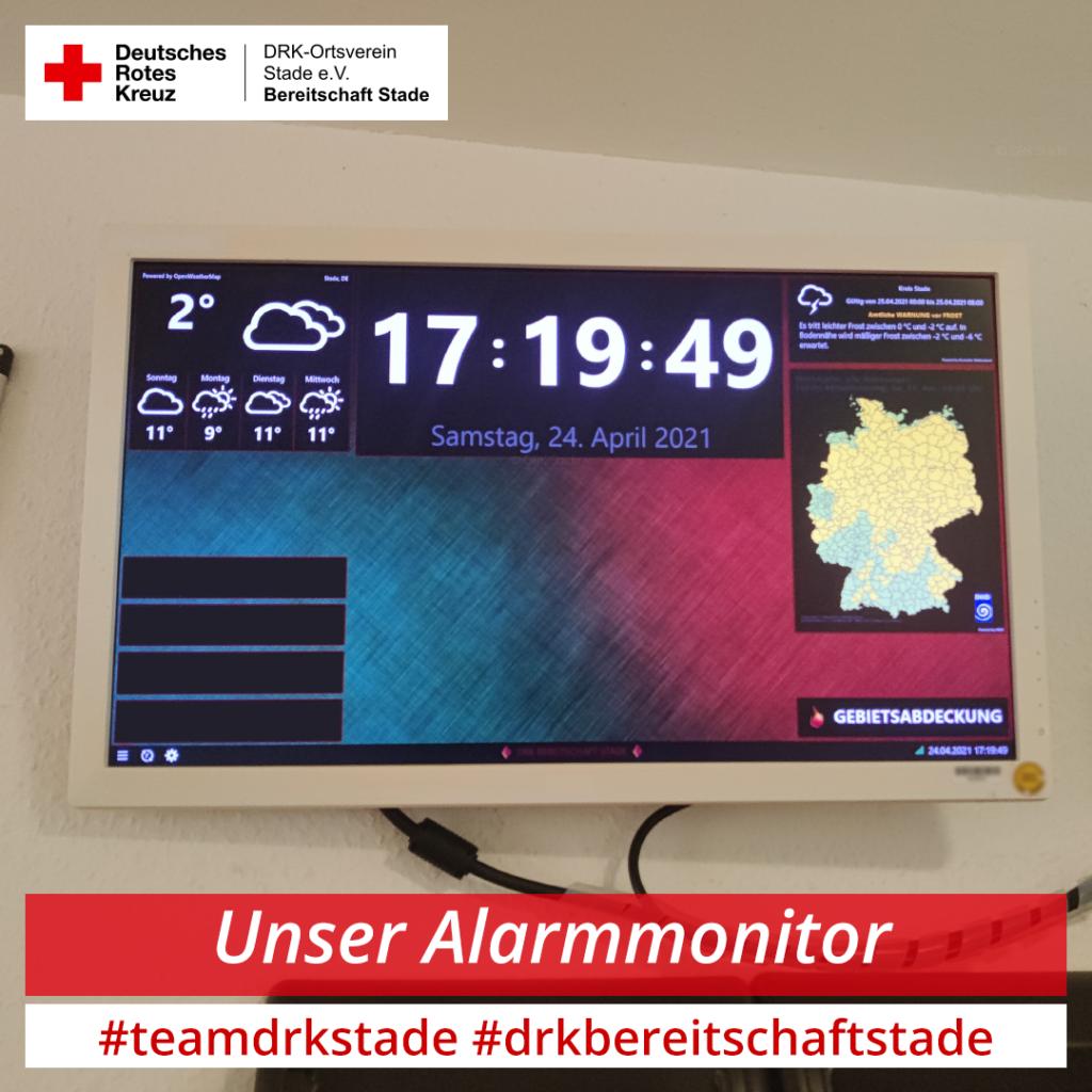 Alarmierungswege: Der Alarmmonitor