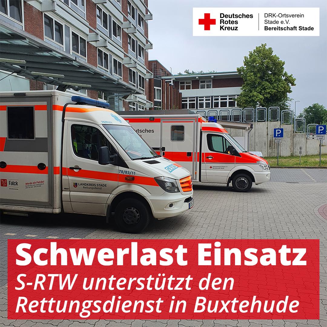 Schwerlast Einsatz in Buxtehude - 1