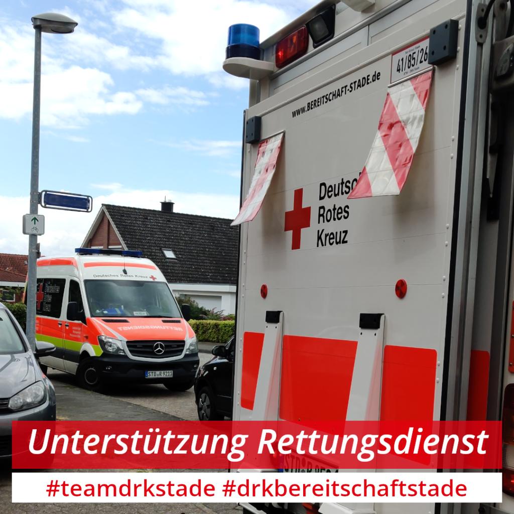 Krankentransport mit S-RTW