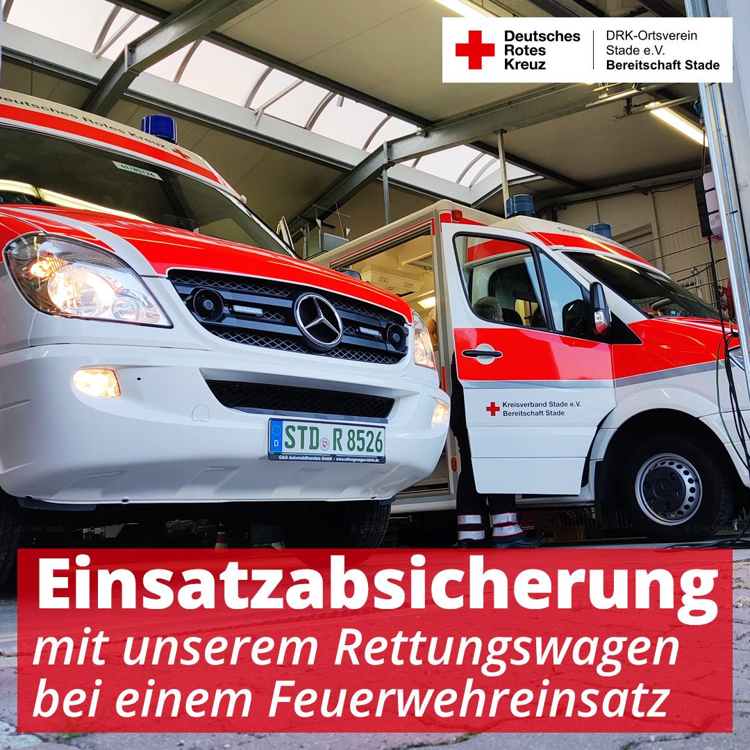 Absicherung der Feuerwehr