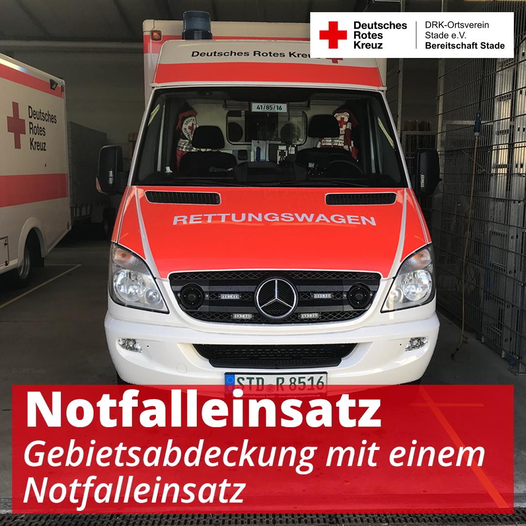 Notfalleinsatz und Gebietsabdeckung